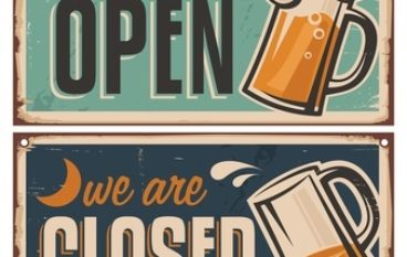 Popular Bar Signs for Your Home Bar